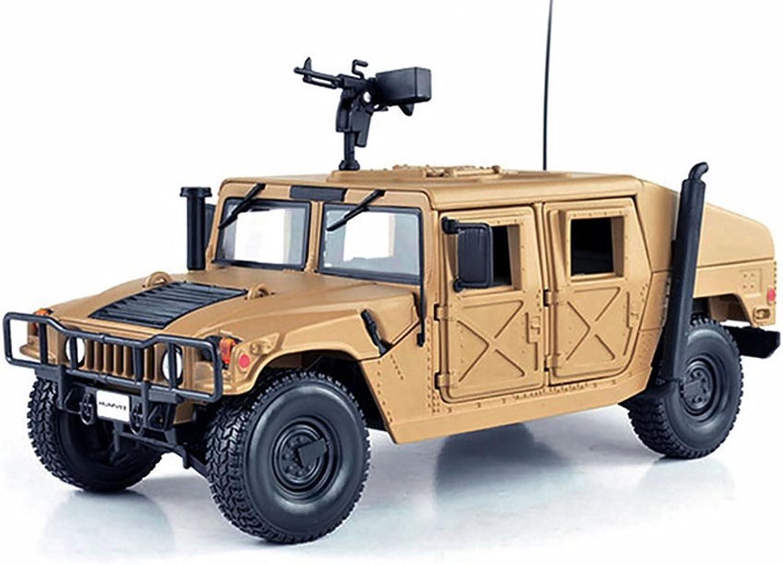 Maisto Hummer Humvee, Sand  34974 1 27 Scale Diecast Model Military Vehicle