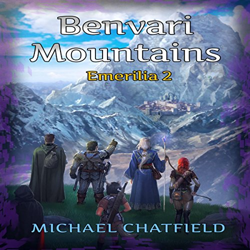 Benvari Mountains audiobook cover art