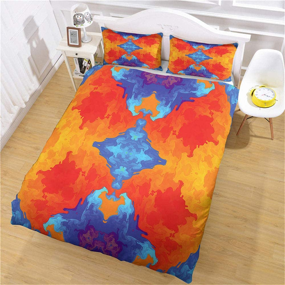 JJBWZX Hotel Duvet Cover Max 61% OFF Cheap Twin Size Co in 3 1 Pieces 68X90
