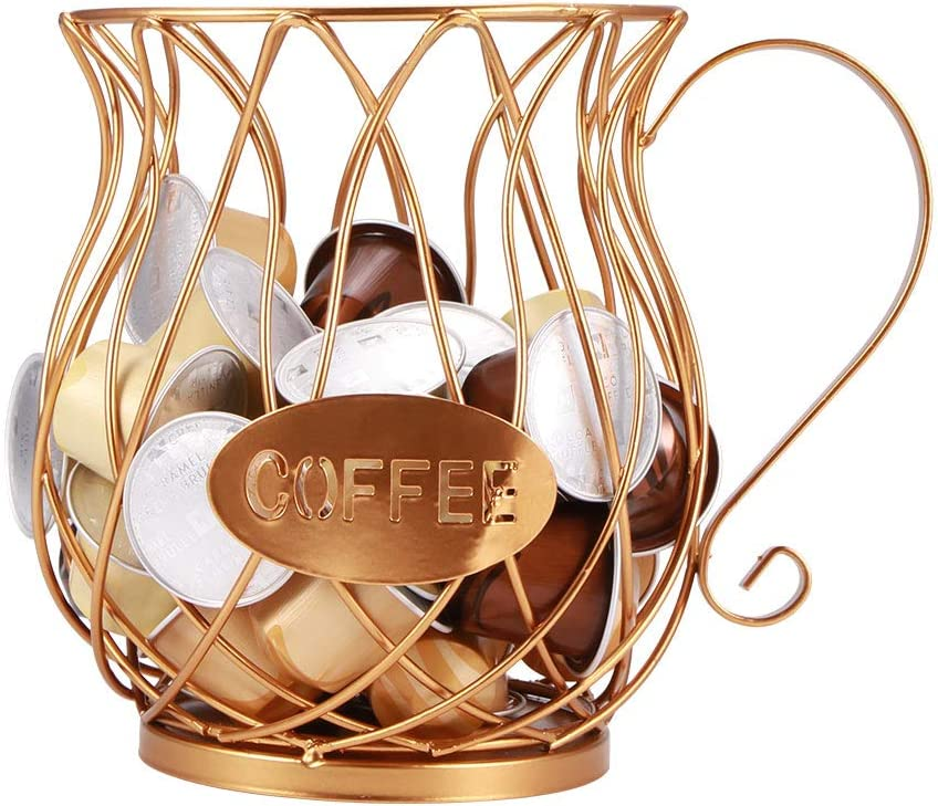 YUNYODA Be super Mail order cheap welcome Coffee Storage Basket Multiple St Holder Pod
