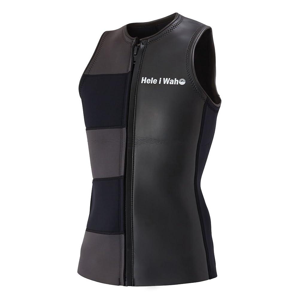 見分ける赤外線間に合わせウェットスーツ HeleiWaho/ヘレイワホ 2mm ウエットスーツ ベスト メンズ