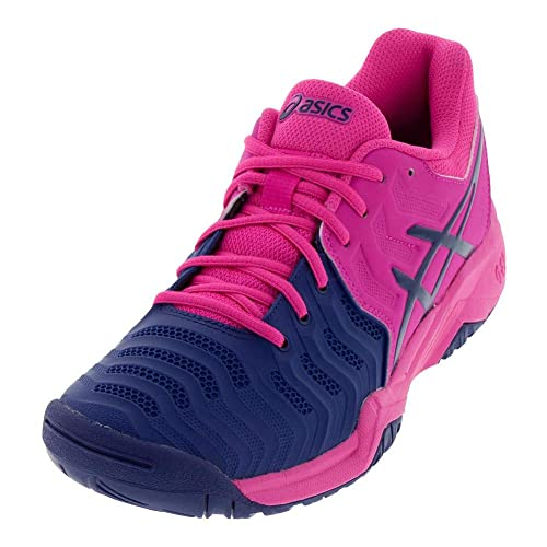 promo code 53037 db4a0 ASICS Kids Gel-Resolution 7 GS Tennis Shoe