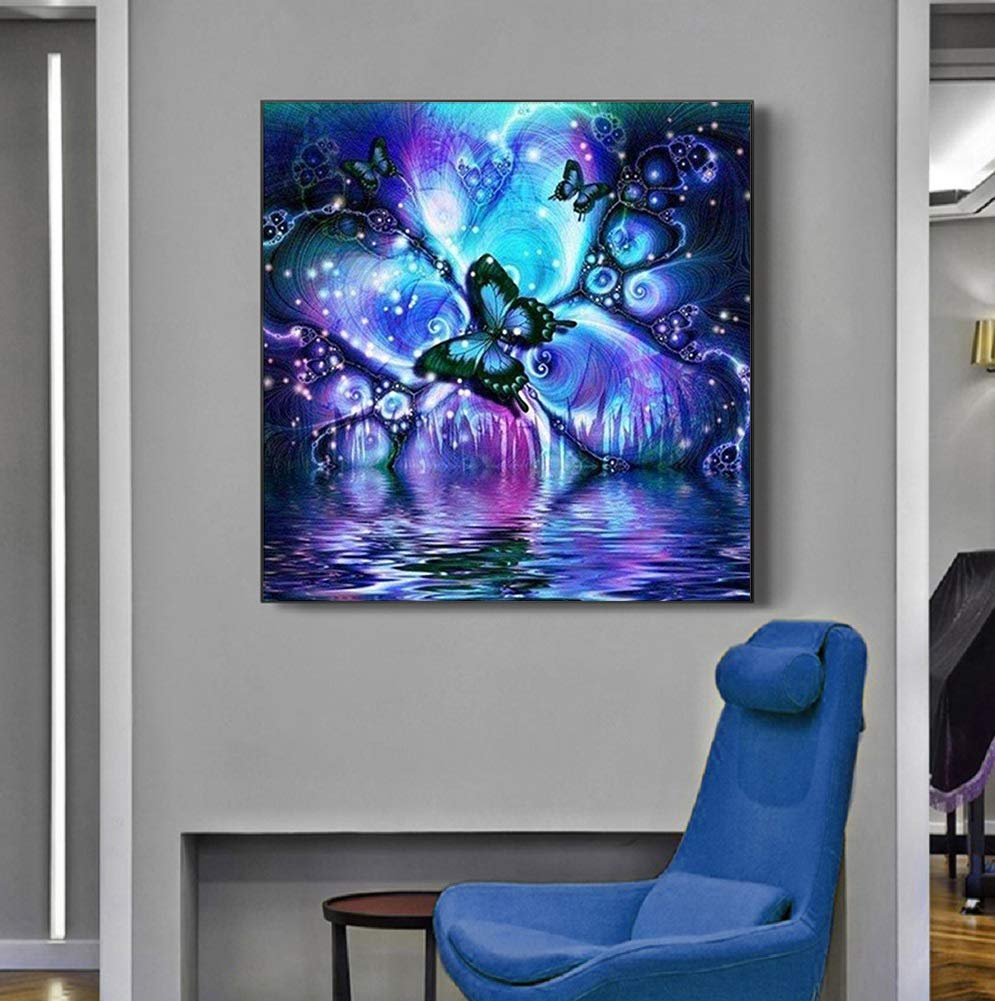 CAOBAO 5D Diamond Painting Kits for Adults 30x30cm 11.81x11.81inchs DIY Paint by Diamonds Full Drill Embroidery Cross Stitch Arts Craft Wall Decor NO.0020