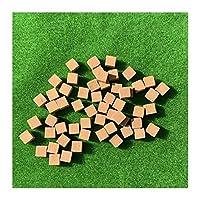 DDDCM DIYサンドテーブルビルのためのスケールミニレッドハーフレンガモデルアンティークマイクロ風景装飾レンガ (色 : 120Pcs)