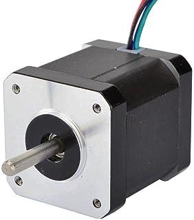 STEPPERONLINE 0.9deg Nema 17 Stepper Motor Bipolar 2A 46Ncm/65oz.in 42x42x48mm 4-Wires DIY CNC
