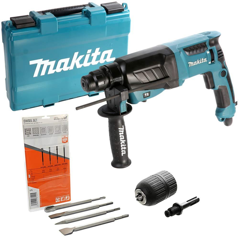 Makita HR2630 3 Mode SDS Plus 26mm Rotary Hammer Drill-110V