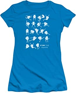Adventure Time - Juniors Finn The Human T-Shirt