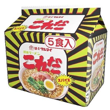 マルタイ ラーメン「これだ」5食 435g×6個