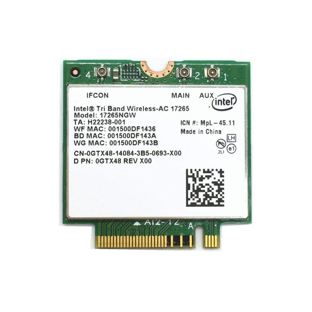 for Wireless-AC Intel National products 17265 17265NGW BT 4.0 Bluetooth 867M sale WiFi