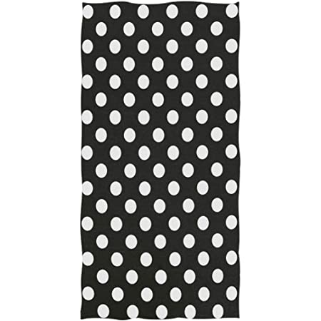 antfeagor Pigs and Polka Dots Hand Towels Kitchen Decorative Towel for Bathroom Ultra Soft Highly Absorbent Bath Towels for Spa,Hand,Face,Gym,Sports 27.5 X 12 in