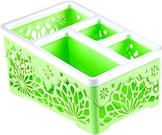 ZARLLE Caja botiquín para el baño o el Armario, pequeña Caja para medicinas de plástico Organizador de medicamentos fácil de Limpiar, Transparente