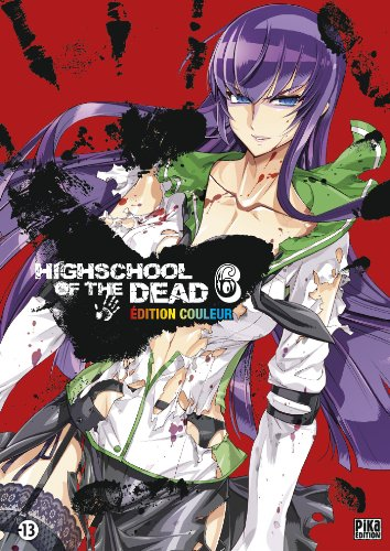 Highschool of the Dead Couleur T06