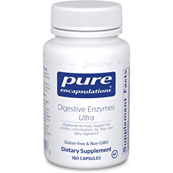 Pure Encapsulations - Digestive Enzymes Ultra - Comprehensive Blend of Digestive Enzymes - 180 Capsules