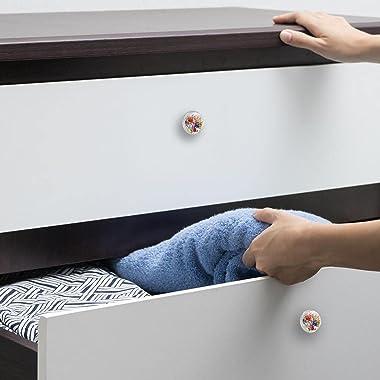 Drawer Handles Pull Decorative Cabinet Knobs Dresser Drawer Handle 4 Pcs,sea Life Ocean Fish
