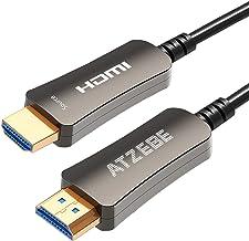 Atzebe Fiber Optic Hdmi Cable