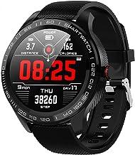 Senbos Smart Horloge 1.3-Inch Full Touch Kleur Scherm Sport Horloge IP68 Waterdichte Aansluiting APP met Stappenteller, Hartslagmonitoring, Slaapmonitoring Fitnesstracker