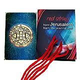 5 pulseras de cadena de Kabbalah rojas bendecidas en Jerusalén con amuleto de sello de amuleto King Solomon Love Seal