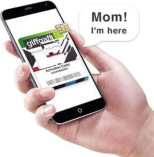 Giffgaff Europe Sim Card Unlimited-Data (5 Days)