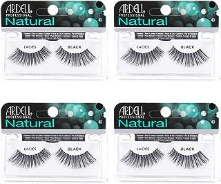 Ardell Natural Lashes False Eyelashes Lacies Black (4 pack)