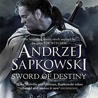 Sword of Destiny     The best-selling stories that inspired the hit game The Witcher              By:                                                                                                                                 Andrzej Sapkowski                               Narrated by:                                                                                                                                 Peter Kenny                      Length: 12 hrs and 46 mins     367 ratings     Overall 4.8