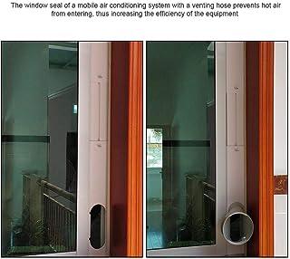 S-tubit Adaptador de Ventana para Diapositiva de Sello de Ventana Ajustable con Manguera de Escape Aire Acondicionado portátil Aire Acondicionado móvil Unusual Sale2019