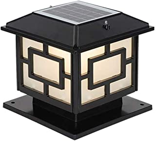 SMLZV Column Headlight,Outdoor Fence Column Headlights,Decking & Patio Lighting Outdoor Lighting Accessories,for Courtyard...