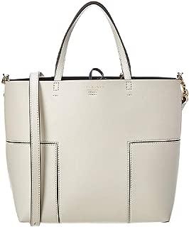Tory Burch Women's T Leather Top-Handle Bag Satchel