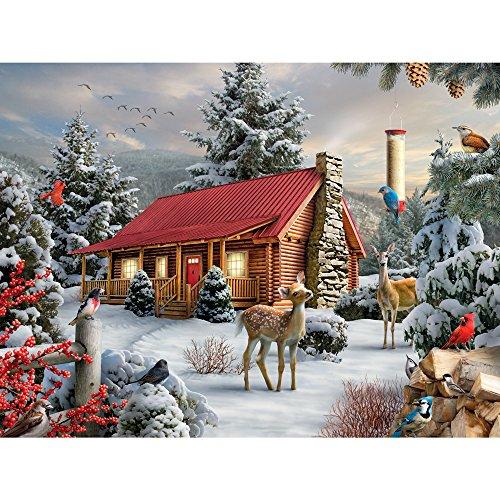 1000 piece puzzles winter - 3