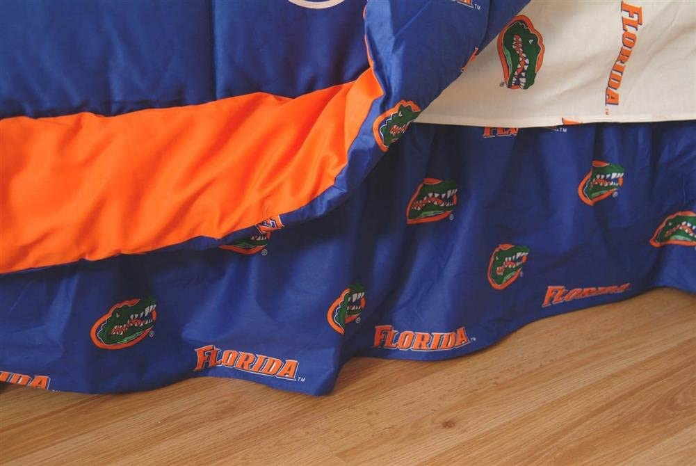 College Covers Florida Gators Max 47% OFF Queen Dust Printed latest Ruffle