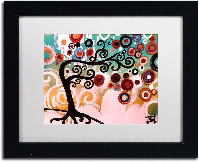 Trademark Fine Art 138 by Natasha Wescoat Wall Art, White Matte, Black Frame 11x14