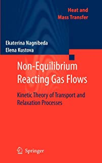 Non-Equilibrium Reacting Gas Flows: Kinetic Theory of Transport and Relaxation Processes (Heat and Mass Transfer)