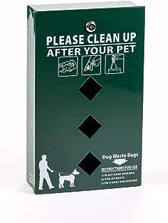 PetWasteCo Dispenser/with Free 400 Dog Waste Bags,BD-3000(PWC-012)