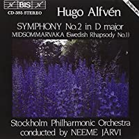 Alfven: Symphony No. 2 in D Major / Midsommarvaka (Swedish Rhapsody, No. 1) (1993-06-07)
