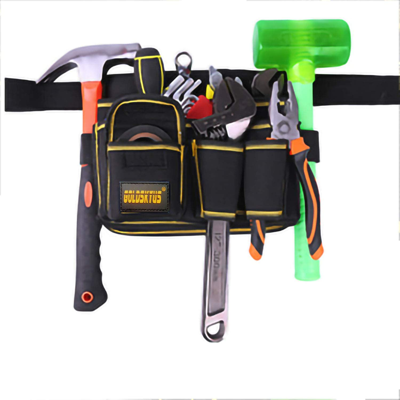 FASTECH Adjustable Tool Waist Bag,Tool Pocket Pouch Belt Small P