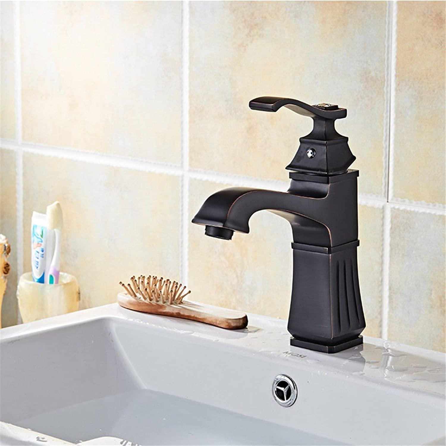 Hlluya Professional Sink Mixer Tap Kitchen Faucet Metal sitting in line faucet antique basin faucet off Kai-style wash basins taps,