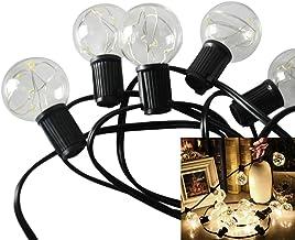 LEDMOMO Globe String Lights G Ft Led Warm Globe Bulbs Outdoor Lights As Shown