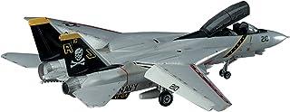 ハセガワ 1/72 アメリカ海軍 F-14A トムキャット ハイビジ プラモデル E3