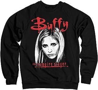 Buffy the Vampire Slayer Offizielles Lizenzprodukt Sweatshirt Schwarz