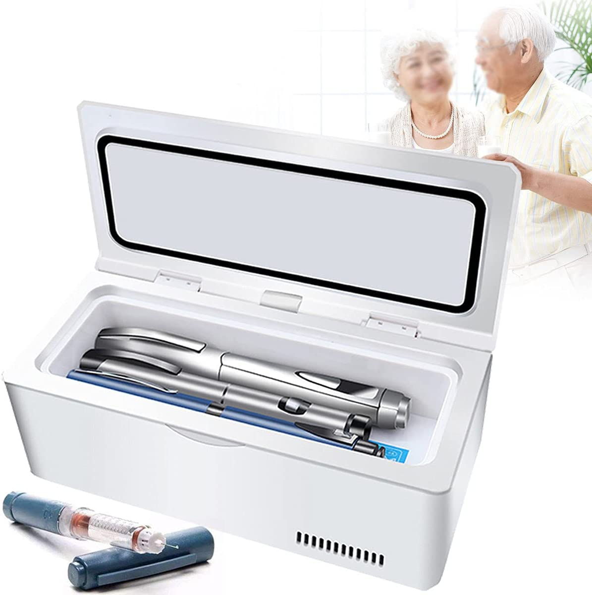 ZXLZM Portable Insulin Cool Box Max 53% OFF Outlet ☆ Free Shipping for x m 225 95 Medication 103