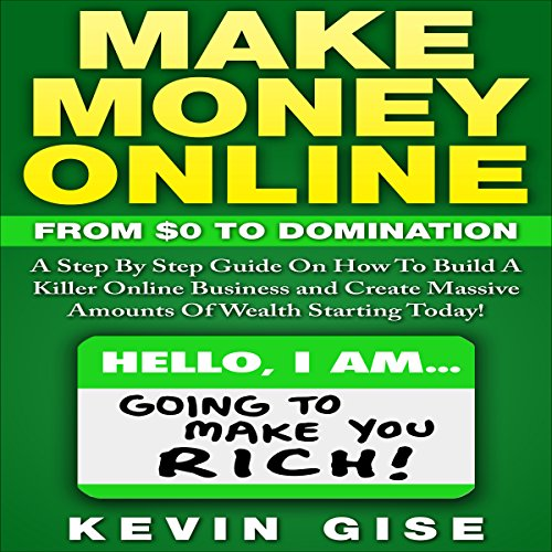 Make Money Online audiobook cover art