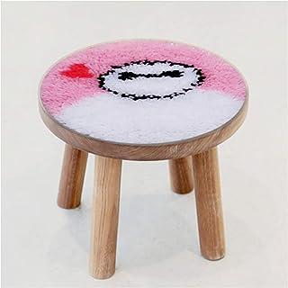 Crochet de loquet Kits d'artisanat Tapis d'artisanat, tampons de chaise et coussins pour enfants, apprendre à crocheter ki...