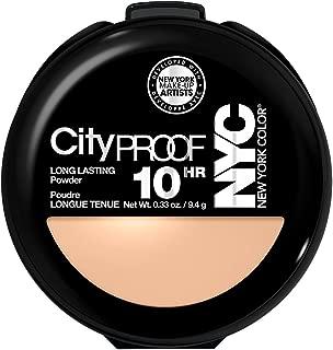 N.Y.C. New York Color Smooth Skin Pressed Face Powder, Warm Beige 704A