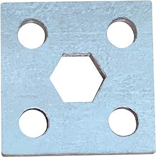 Hex Mounting Bracket | Galvanized Steel for 7/16″ Hex Axle