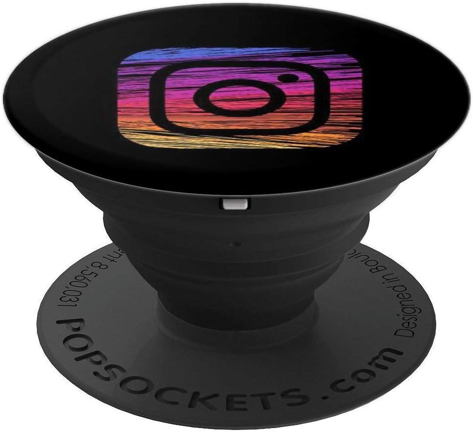 Agarre intercambiable para Tel/éfonos y Tabletas Gradient Phone 12 Pro Pacific Blue /& 12 Pro Max Pacific Blue PopSockets PopGrip