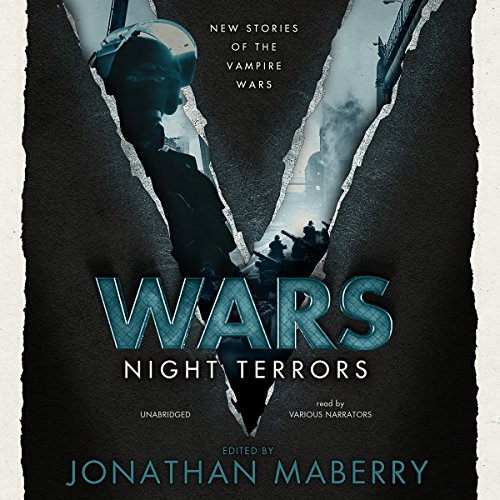 V Wars: Night Terrors audiobook cover art