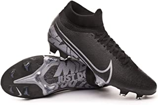 Nike Men's Superfly 7 Pro FG Soccer Cleats (Black/MTLC Cool Grey)