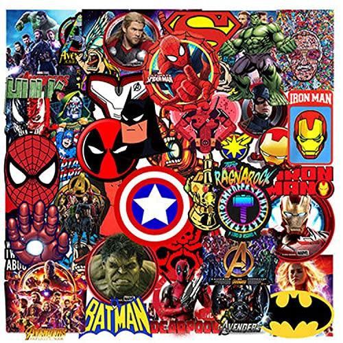 Marvel - 50 pegatinas de Marvel para...