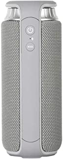TDCQQ Bluetooth Speaker Bluetooth Speaker Portable Bluetooth Speaker Wireless Small Speaker Low (Color : Gray)