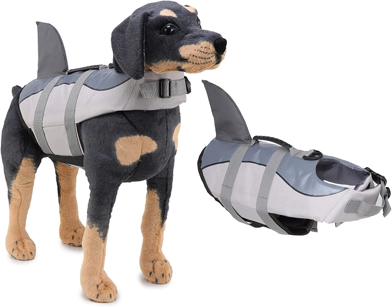 Singkka Dog Life Jacket Vest Pet Summer Jac Seattle Mall Wholesale Shark