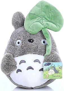 "My Neighbor Totoro Plush Doll Plush Animal Toy Throw Pillow Decorative Holiday Birthday Kid  (Lotus Leaf, 30cm/ 11.8"")"